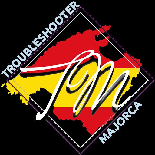 troubl eshootermajorca logo