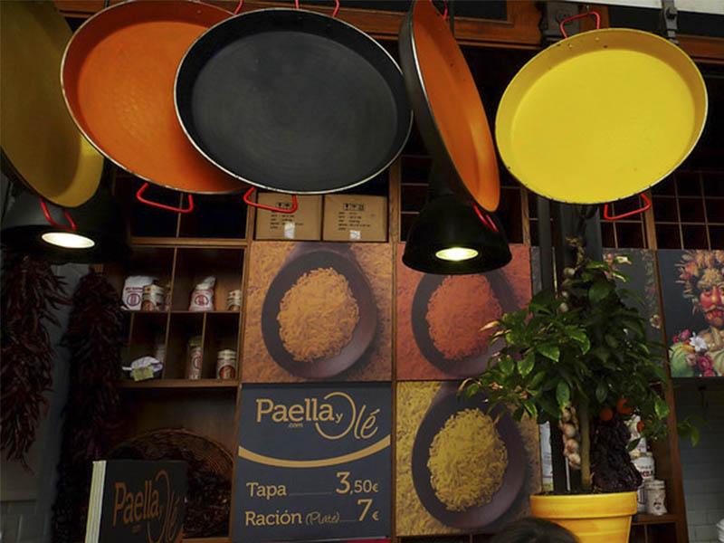 Изображение Паэлера сковорода для приготовления паэльи