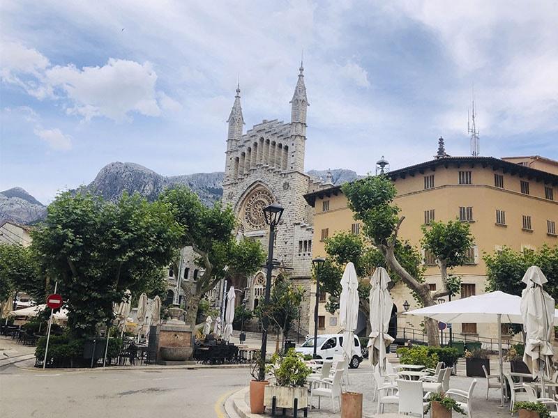 Изображение город Сольер Майорка, Церковь Святого Бартоломеу