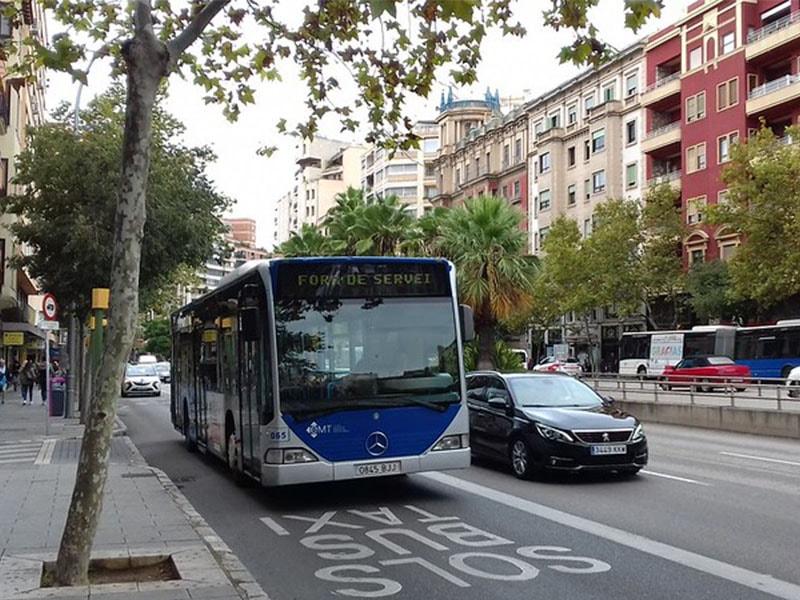 Фото как выглядят автобусы Майорки