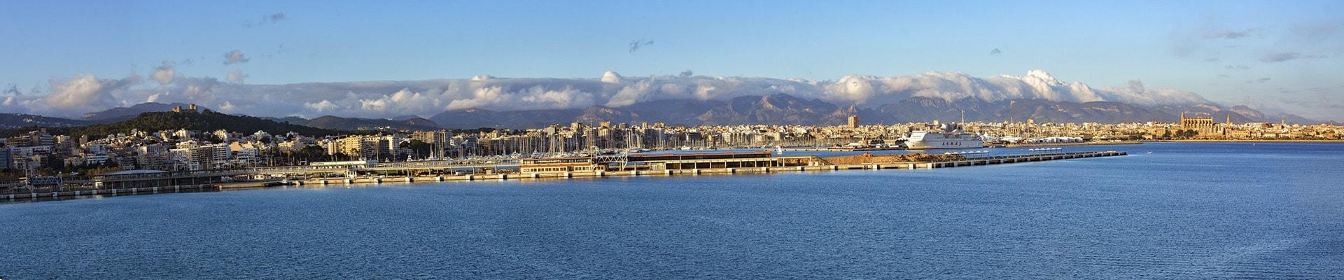 Фото Панорама на город Пальма де Майорка