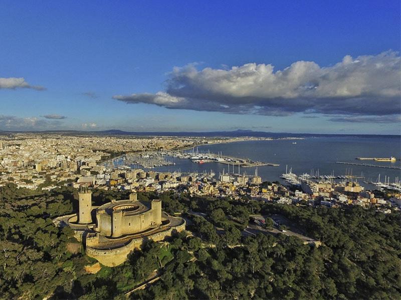 Фото замок Бельвер или что посмотреть на острове Майорка
