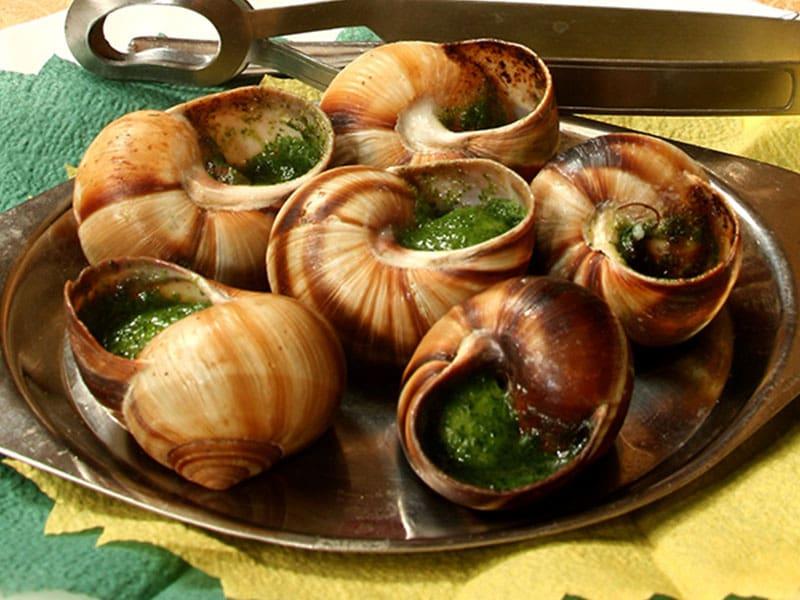 Фото Традиционное блюдо Майорки - улитки