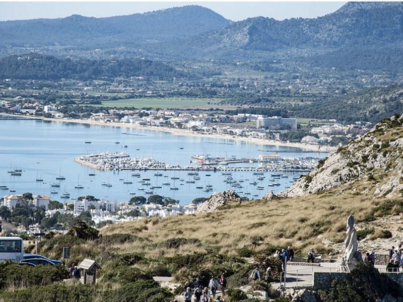 Фото Залив Польенсы на острове Майорка