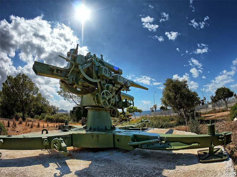 Фото Пушка в военном музее Сан Карлос, бесплатные места Пальмы на острове Майорка