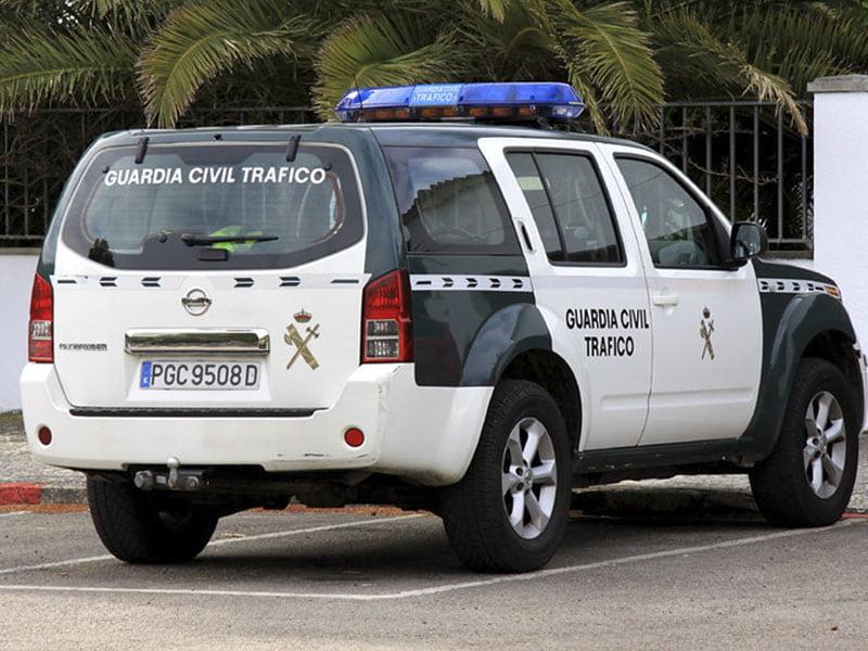Фото Машина дорожной полиции в Испании