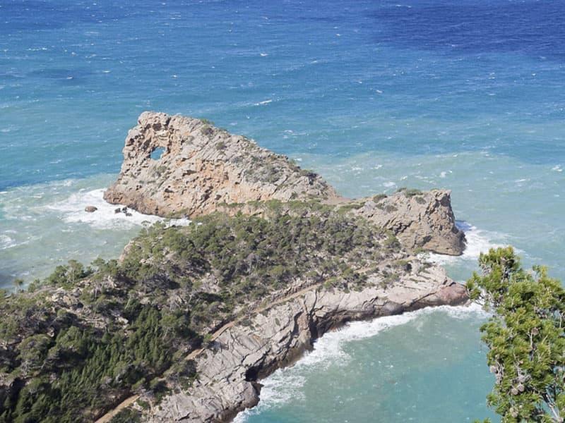 Фото Смотровая площадка Са Форадада остров Майорка
