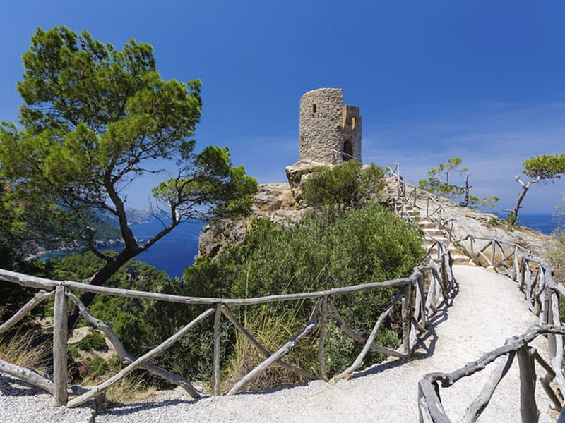 Фото Смотровая площажка острова Майорка Сес Анимес